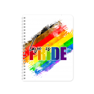 PEOPLE OF COLOUR Pride Gender Flag Themed Planner & Notebook...