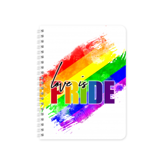 RAINBOW Pride Gender Flag Themed Planner & Notebook Cover...