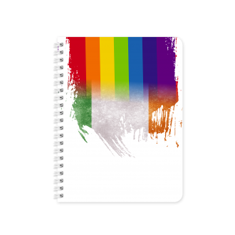 Irish Flag with Pride Colours - Planner & Notebook Cover - Sublimation & Print Ready