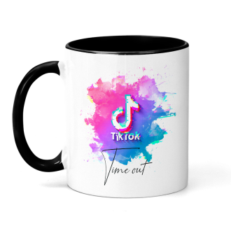 TikTok Time Out Mug - Sublimation & Infusible Ink Ready