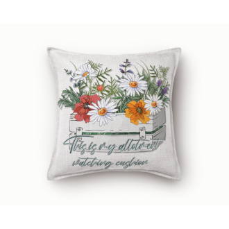My Allotment Watching Cushion - Multi Use Digital Sublimation...