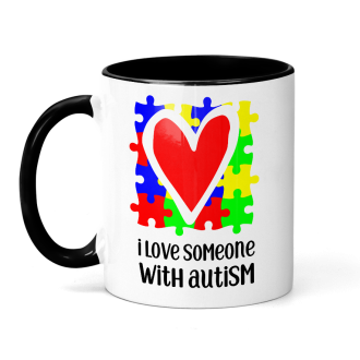 I Love Someone With Autism SVG Digital Design - Sublimation Ready