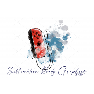 Games Controller with Splatter Perfect for Birthday or...