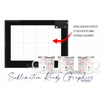 """iPad Greeting Card Design Layout Template 5""""x7"""" for Affinity"""