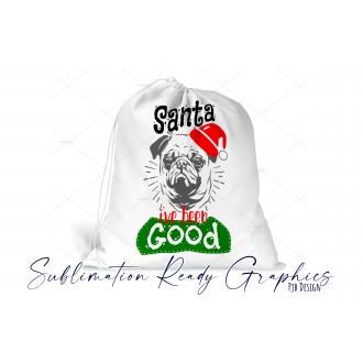 Christmas Eve Sack for you Fur Baby with Space for Any Name -...