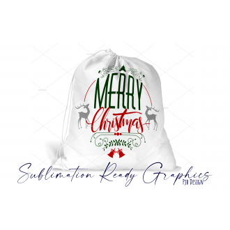 Merry Christmas Santa Pack - Sublimation & SVG Ready