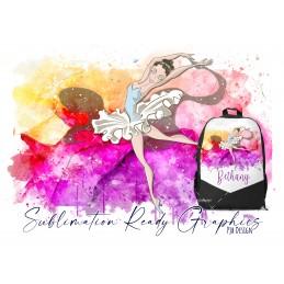 Splash Ballet 3 Skin Tones 2 Background Colours