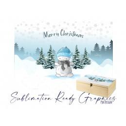 Snowman Christmas Eve Box - Fits Bot Boxes