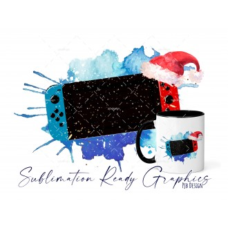 Christmas Switch Gamer NO Text - Festive Multi Use Sublimation...
