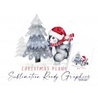 Christmas Planner Cover Design Sublimation Design