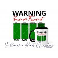 Sarcasm Level Forecast Warning - PNG, SVG & Studio V3 File for...
