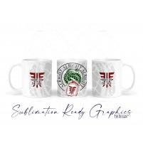 Gambit Scorn on the Field Mug Wrap - Sublimation ready 11oc...