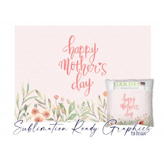 Mothers Day - Book Cushion Design - Multi Use Design -...