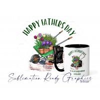 Fathers Day Gardening Design - Multi Use Digital Sublimation...