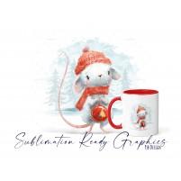 Christmas Mouse No Text Version - Festive Multi Use Christmas...