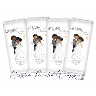 Wedding Favour Novelty Replacement Wrapper - Thank You for...