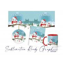 Christmas Themed 3x Design Pack - Planner, Bauble & 11oz Mug...