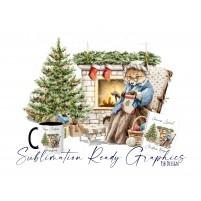 Multi Use Design Christmas Textless Ideal Grandma, Mum, Aunty...